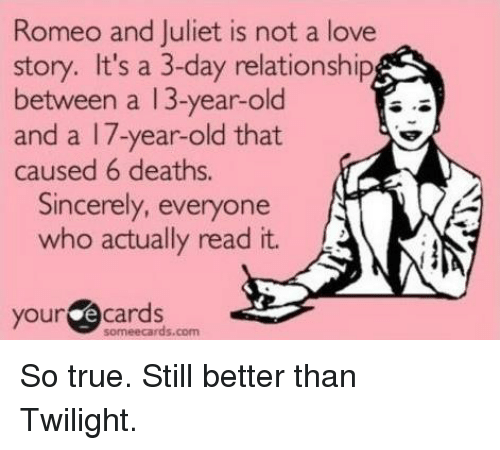 romeo and juliet true nature of love Shakespeare's romeo & juliet is a classic love story, but it's one that may be misunderstood it's not the story of a young couple rebelling against their parents it's the story of juliet .