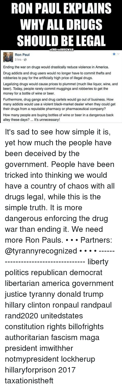 the government should do more help drug addicts Addiction to the drugs and spending any money they do acquire on more drugs can government should be doing more to help drug addict in poverty is there.