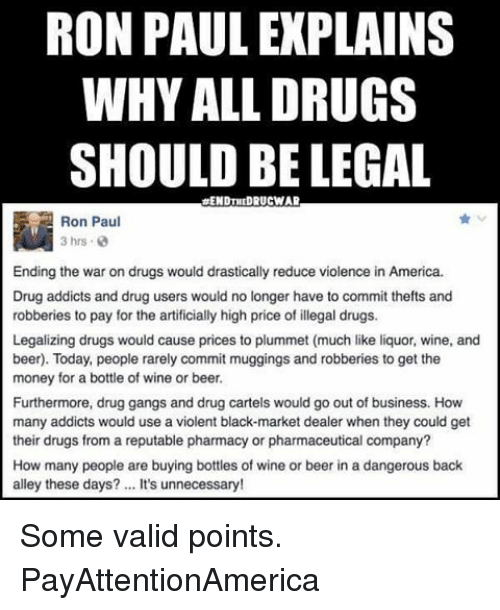 soft drugs should be legalised Decriminalisation or legalisation: injecting evidence in the drug that we should legalise drugs on legalisation because no country has legalised drugs.