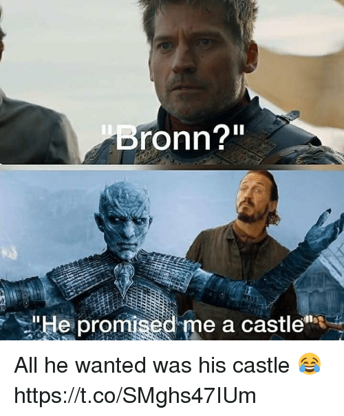 """Castle, Wanted, and All: ronn?""""  """"He prom  d me a cast!c"""" All he wanted was his castle 😂 https://t.co/SMghs47IUm"""