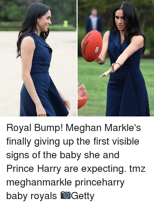Prince Harry: Royal Bump! Meghan Markle's finally giving up the first visible signs of the baby she and Prince Harry are expecting. tmz meghanmarkle princeharry baby royals 📷Getty
