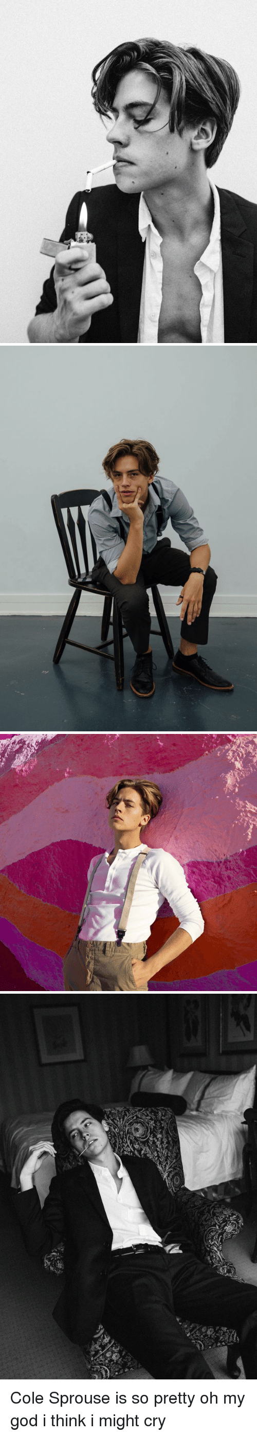 Girl Memes: rt   声   思 Cole Sprouse is so pretty oh my god i think i might cry
