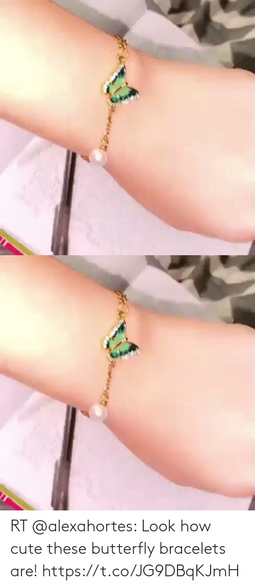 Butterfly: RT @alexahortes: Look how cute these butterfly bracelets are! https://t.co/JG9DBqKJmH