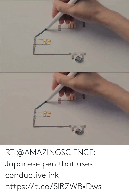 ink: RT @AMAZINGSClENCE: Japanese pen that uses conductive ink https://t.co/SlRZWBxDws