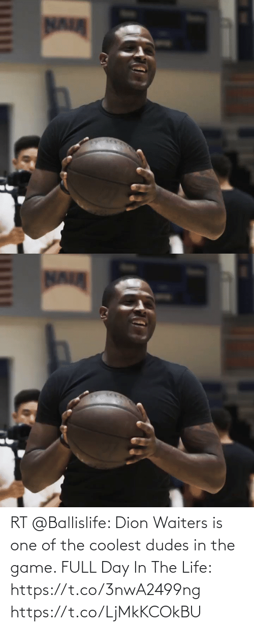 Waiters: RT @Ballislife: Dion Waiters is one of the coolest dudes in the game. FULL Day In The Life:  https://t.co/3nwA2499ng https://t.co/LjMkKCOkBU