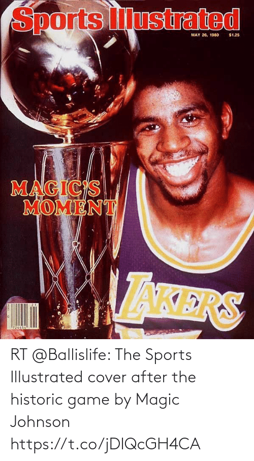 After The: RT @Ballislife: The Sports Illustrated cover after the historic game by Magic Johnson https://t.co/jDIQcGH4CA