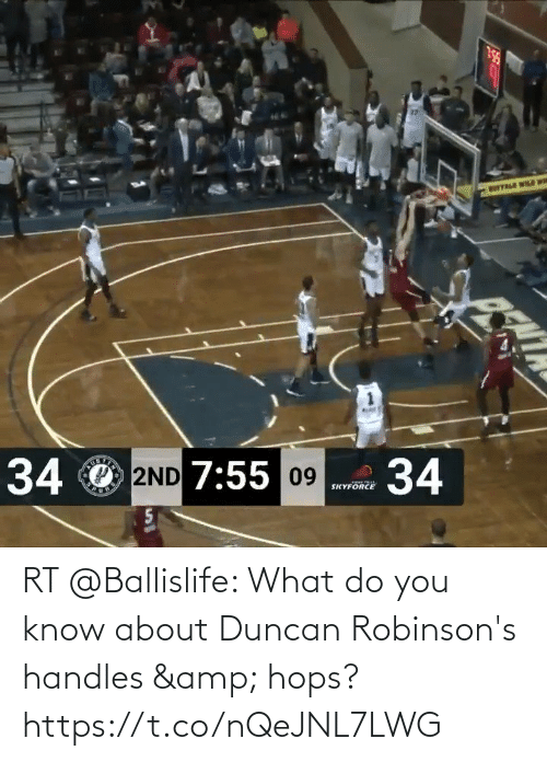 hops: RT @Ballislife: What do you know about Duncan Robinson's handles & hops?   https://t.co/nQeJNL7LWG