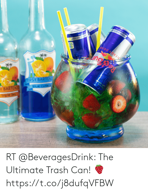 trash can: RT @BeveragesDrink: The Ultimate Trash Can! 🍓 https://t.co/j8dufqVFBW