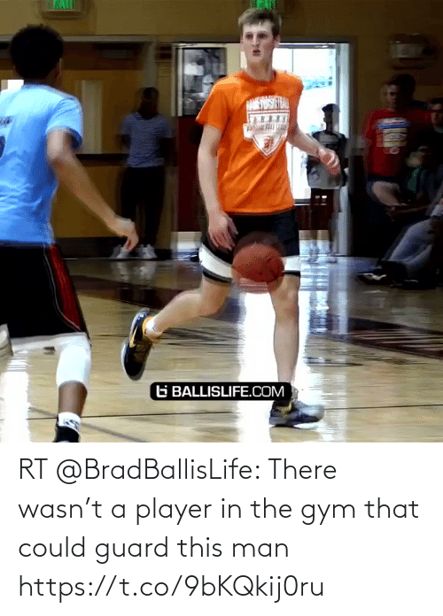 player: RT @BradBallisLife: There wasn't a player in the gym that could guard this man  https://t.co/9bKQkij0ru