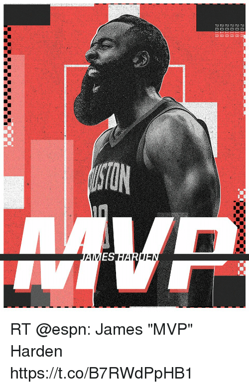 "Espn, Memes, and 🤖: RT @espn: James ""MVP"" Harden https://t.co/B7RWdPpHB1"