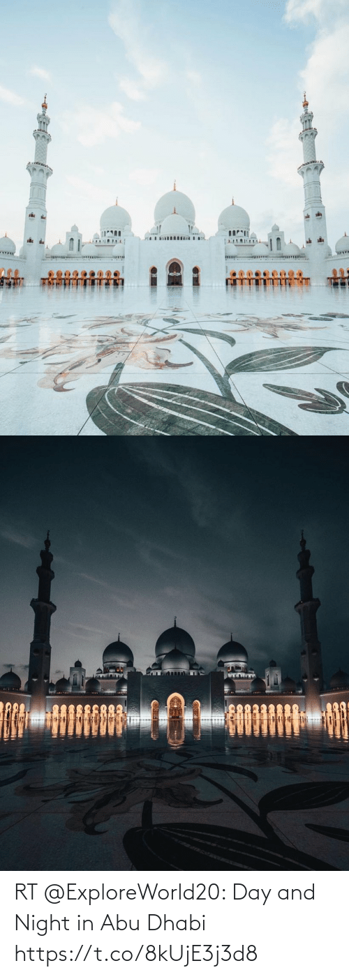 abu: RT @ExploreWorld20: Day and Night in Abu Dhabi https://t.co/8kUjE3j3d8