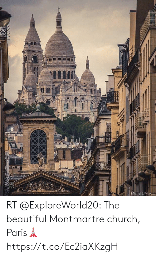 Church: RT @ExploreWorld20: The beautiful Montmartre church, Paris🗼 https://t.co/Ec2iaXKzgH