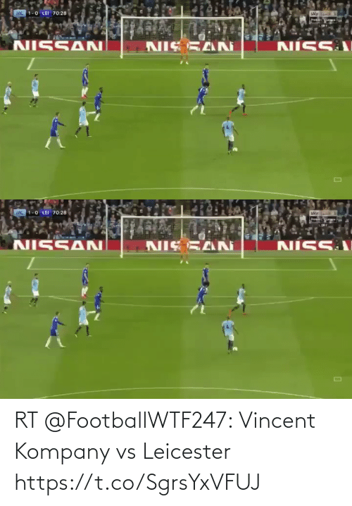 Leicester: RT @FootballWTF247: Vincent Kompany vs Leicester  https://t.co/SgrsYxVFUJ