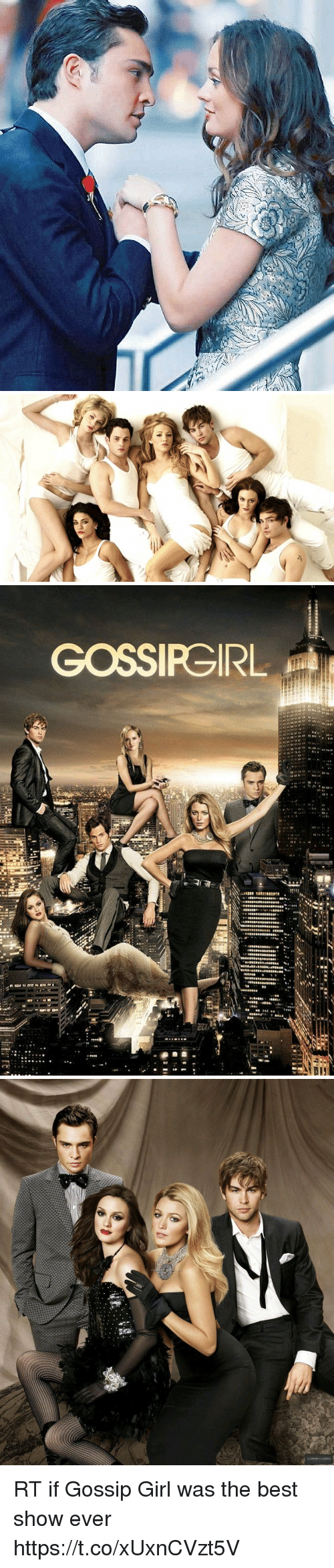 Gossip Girl: RT if Gossip Girl was the best show ever https://t.co/xUxnCVzt5V