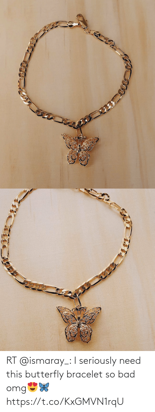 Butterfly: RT @ismaray_: I seriously need this butterfly bracelet so bad omg😍🦋 https://t.co/KxGMVN1rqU