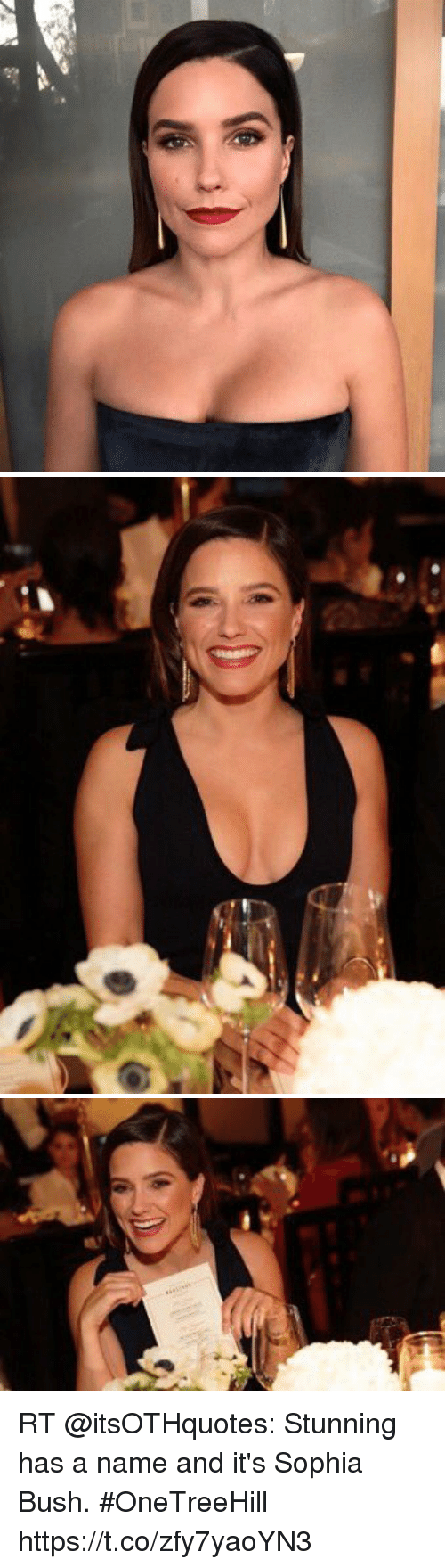 sophia bush: RT @itsOTHquotes: Stunning has a name and it's Sophia Bush. #OneTreeHill https://t.co/zfy7yaoYN3
