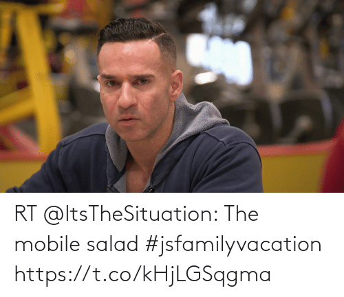 salad: RT @ItsTheSituation: The mobile salad #jsfamilyvacation https://t.co/kHjLGSqgma