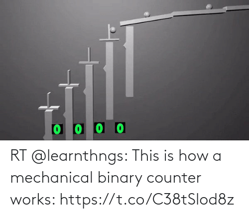 works: RT @learnthngs: This is how a mechanical binary counter works: https://t.co/C38tSlod8z