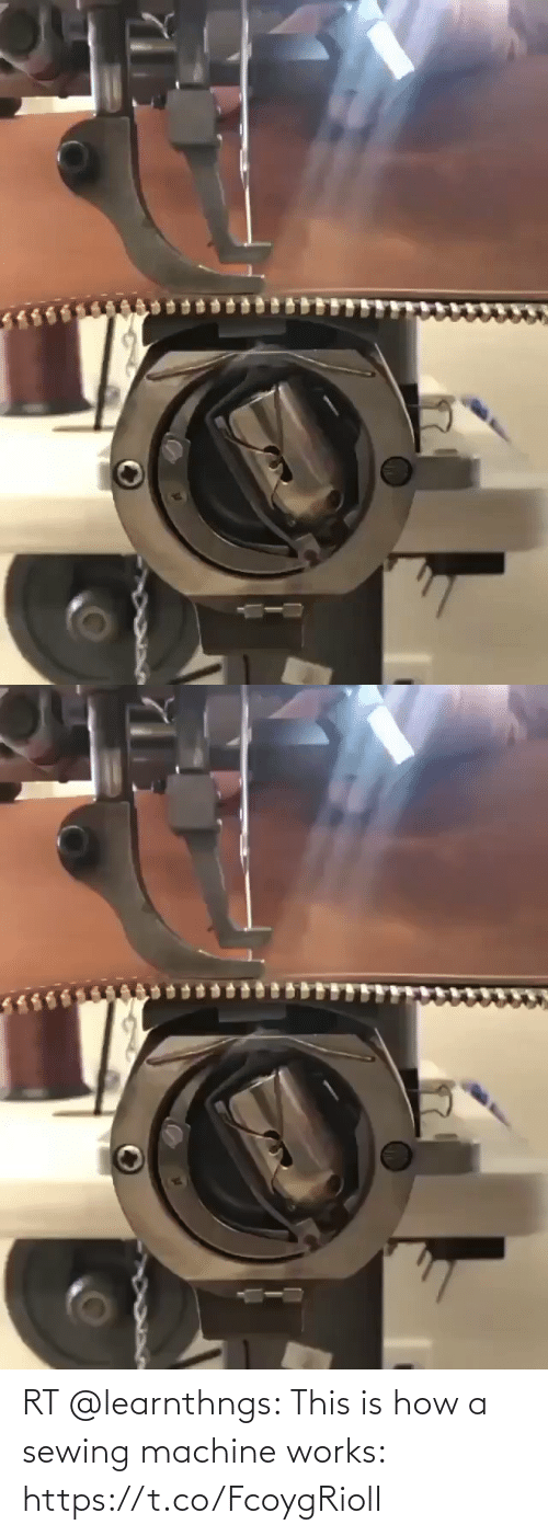 works: RT @learnthngs: This is how a sewing machine works: https://t.co/FcoygRiolI