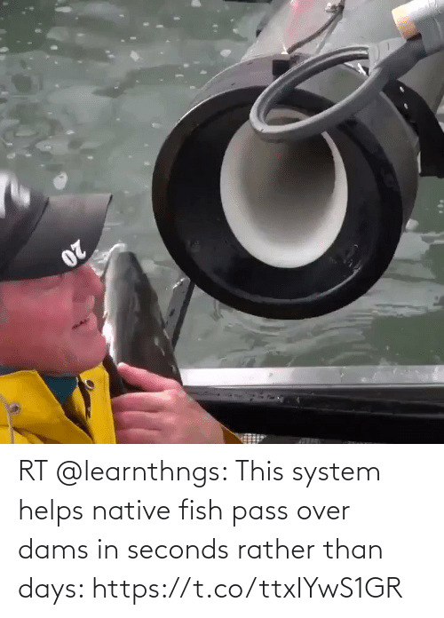 pass: RT @learnthngs: This system helps native fish pass over dams in seconds rather than days: https://t.co/ttxIYwS1GR