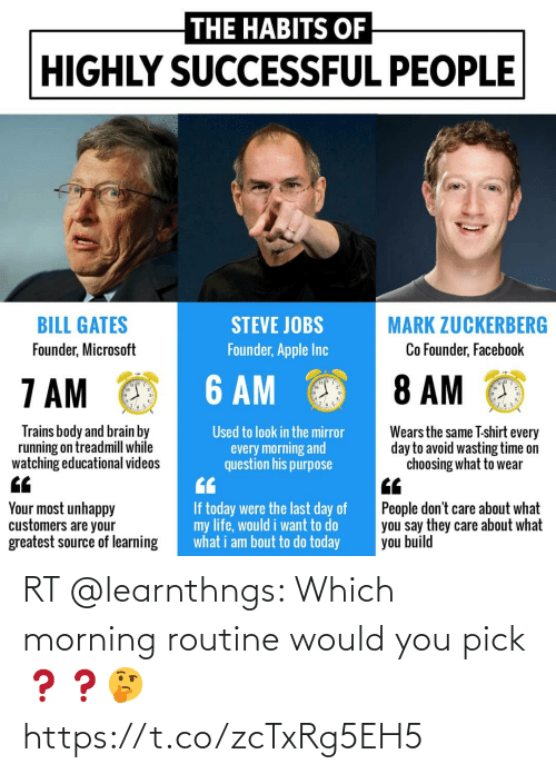 morning routine: RT @learnthngs: Which morning routine would you pick❓❓🤔 https://t.co/zcTxRg5EH5