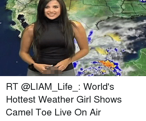 from Micheal weather girls with camel toe