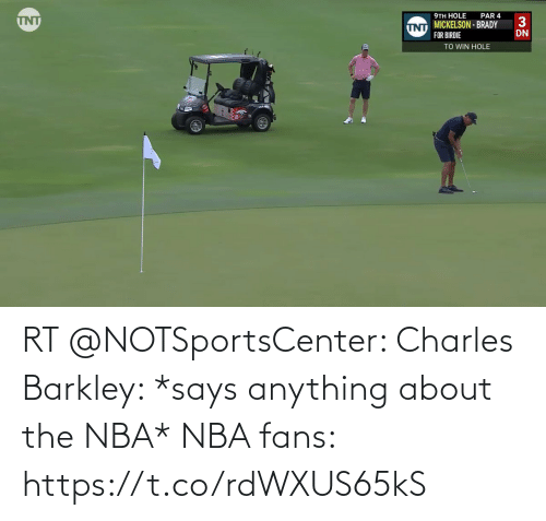 White People: RT @NOTSportsCenter: Charles Barkley: *says anything about the NBA*  NBA fans: https://t.co/rdWXUS65kS