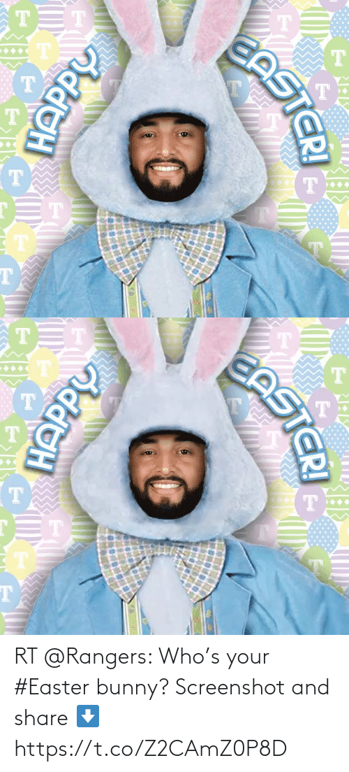 Rangers: RT @Rangers: Who's your #Easter bunny? Screenshot and share ⬇️ https://t.co/Z2CAmZ0P8D