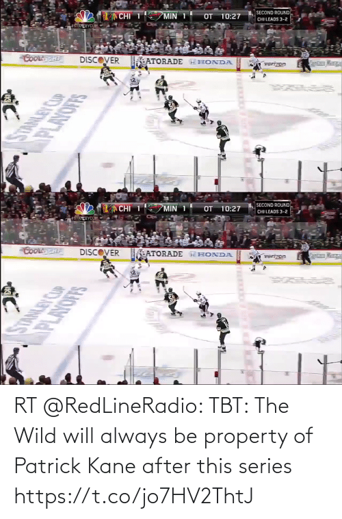 TBT: RT @RedLineRadio: TBT: The Wild will always be property of Patrick Kane after this series https://t.co/jo7HV2ThtJ