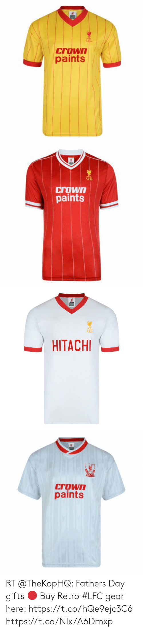 fathers day: RT @TheKopHQ: Fathers Day gifts 🔴  Buy Retro #LFC gear here: https://t.co/hQe9ejc3C6 https://t.co/NIx7A6Dmxp