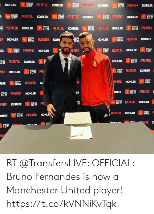 Manchester United: RT @TransfersLlVE: OFFICIAL: Bruno Fernandes is now a Manchester United player! https://t.co/kVNNiKvTqk