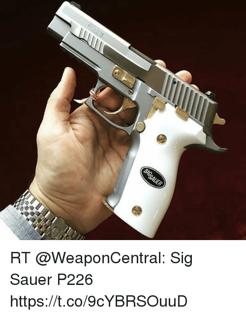 sig sauer: RT @WeaponCentral: Sig Sauer P226 https://t.co/9cYBRSOuuD