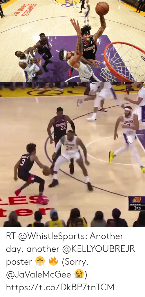 another: RT @WhistleSports: Another day, another @KELLYOUBREJR poster 😤 🔥  (Sorry, @JaValeMcGee 😭) https://t.co/DkBP7tnTCM