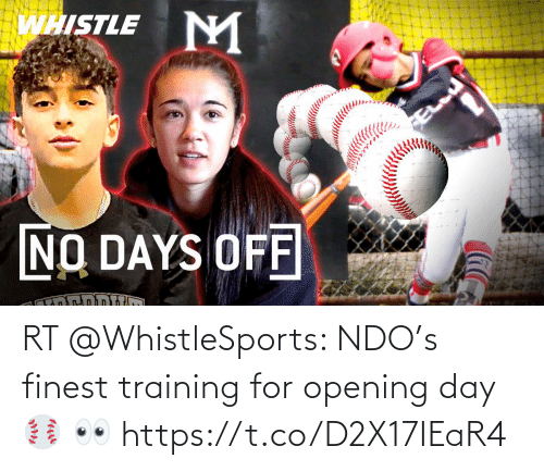 Opening: RT @WhistleSports: NDO's finest training for opening day ⚾️ 👀 https://t.co/D2X17IEaR4