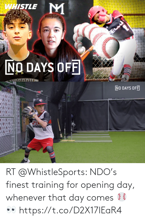 Opening: RT @WhistleSports: NDO's finest training for opening day, whenever that day comes ⚾️ 👀   https://t.co/D2X17IEaR4