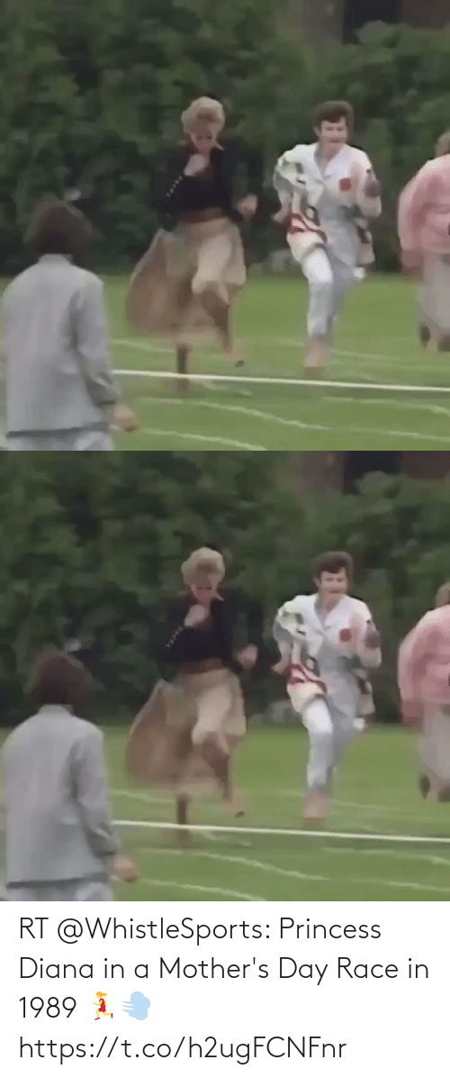 Princess: RT @WhistleSports: Princess Diana in a Mother's Day Race in 1989 🏃♀️💨 https://t.co/h2ugFCNFnr