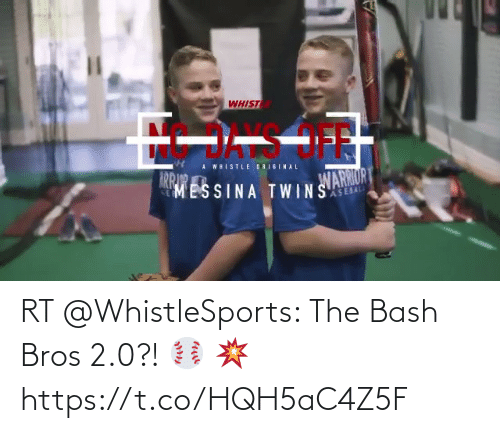 bros: RT @WhistleSports: The Bash Bros 2.0?! ⚾️ 💥 https://t.co/HQH5aC4Z5F