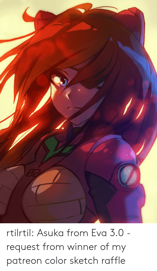 Asuka: rtilrtil:  Asuka from Eva 3.0 - request from winner of my patreon color sketch raffle