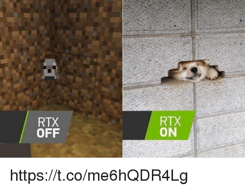 Video Games, Rtx, and Off: RTX  OFF  RTX  ON https://t.co/me6hQDR4Lg