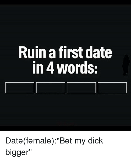Dating words