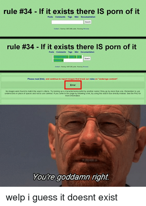 rule 34 if it exists theres porn of it