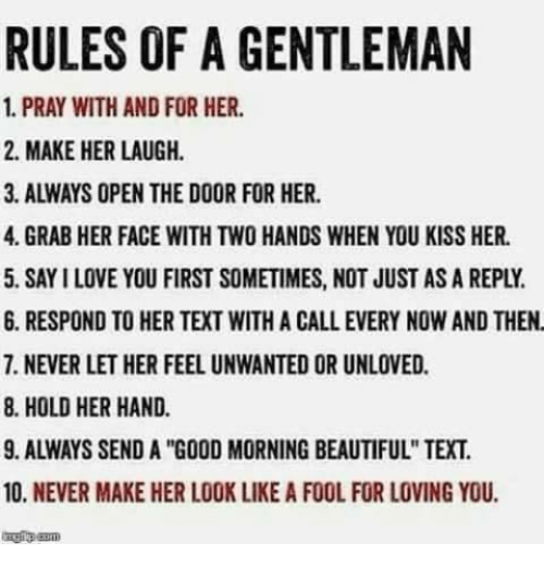 Funny Pics To Make Her Laugh 77 Best Funny Love Quotes: 25+ Best Memes About Rules Of A Gentleman