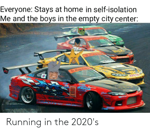 Running In The: Running in the 2020's