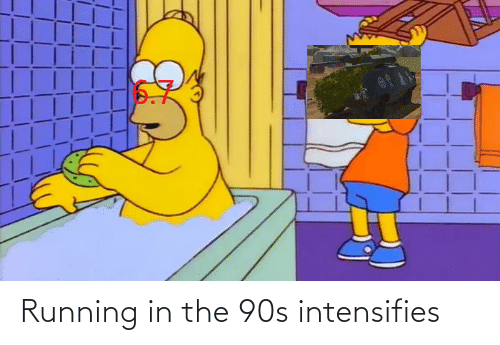 Running In The: Running in the 90s intensifies