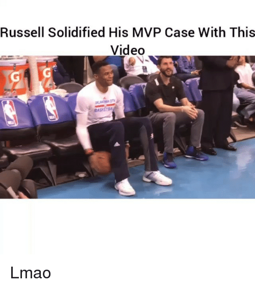 Funny, Lmao, and Video: Russell Solidified His MVP Case With This  Video  BASKETBA Lmao