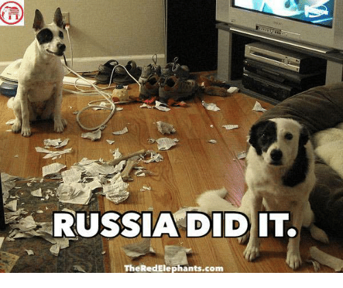 Russia Did It: RUSSIA DID IT.  TheRedElephants.com