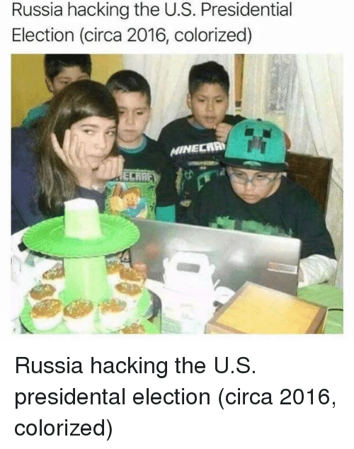 Presidential election: Russia hacking the U.S. Presidential  Election (circa 2016, colorized) Russia hacking the U.S. presidental election (circa 2016, colorized)