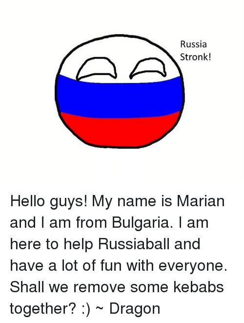 how to say hello my name is in russian