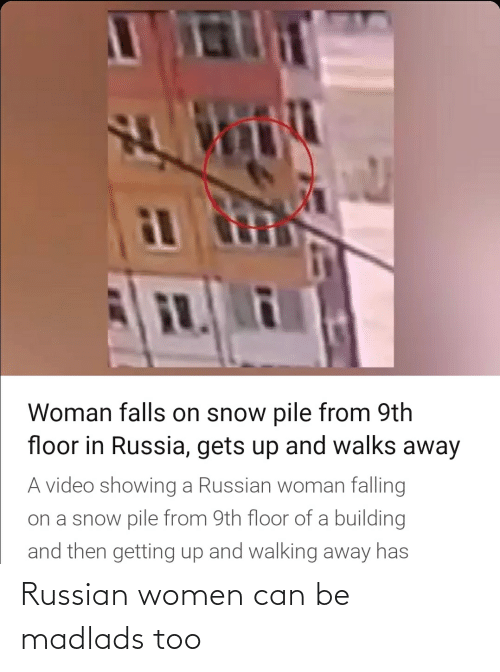 Russian Women: Russian women can be madlads too