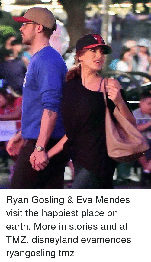 Disneyland, Memes, and Ryan Gosling: Ryan Gosling & Eva Mendes visit the happiest place on earth. More in stories and at TMZ. disneyland evamendes ryangosling tmz